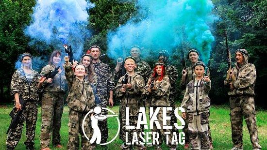 Lakeside, UK: Lakes Laser Tag
