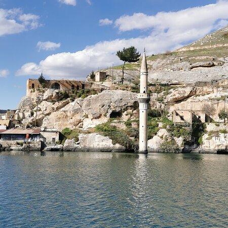 Halfeti, Turkey: güneş doğa güzellik
