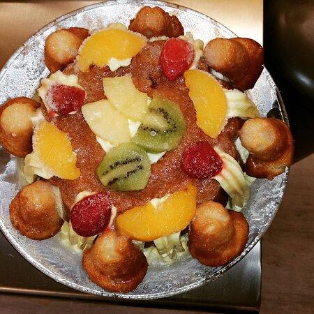 Exotic Fruits Rhum Baba'