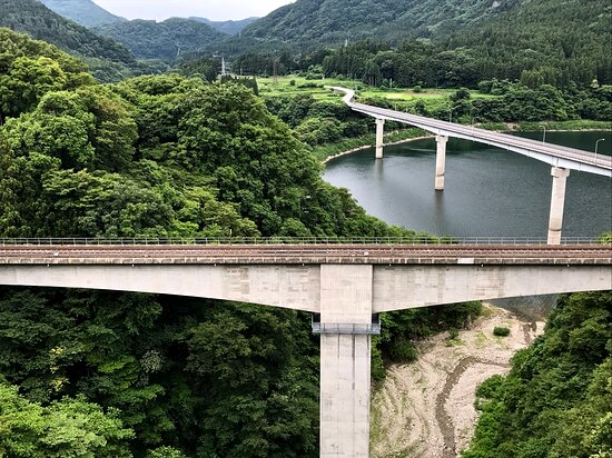 Okawa Dam Komen Bridge