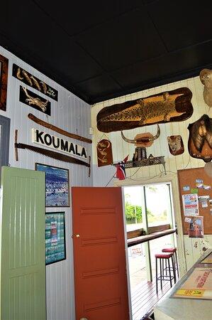 Old Koumala Railway sign