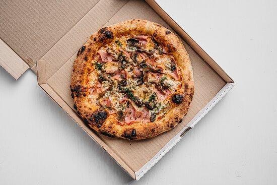 Пицца ветчина&грибы
