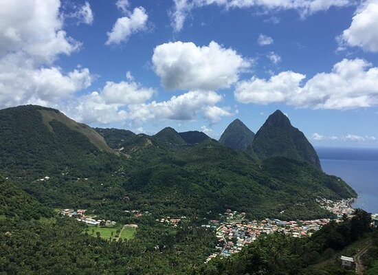 Soufriere Quarter, St. Lucia: Mother Nature at its best.