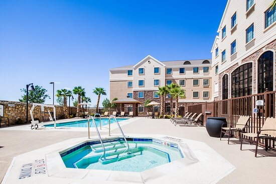Relax & enjoy our great outdoor pool & patio area!