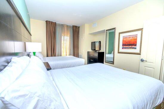 Spacious guest suites at the Staybridge Suites IAH Beltway 8