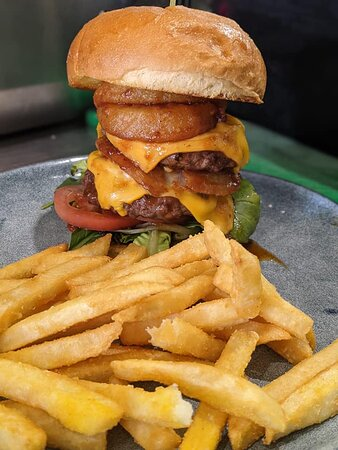 The Blue Water Burger