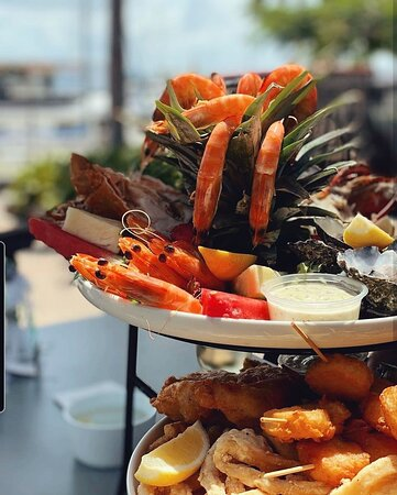 Our beautiful Seafood Platter!