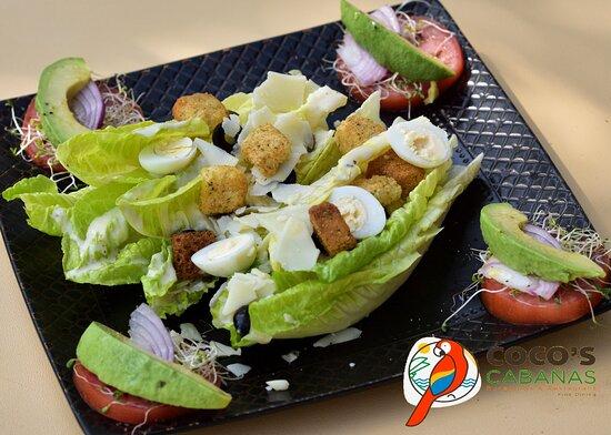 Ensalada Cèsar  Caesar Salad