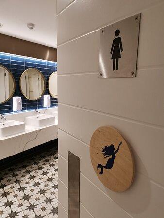 Conference Restroom Facilities