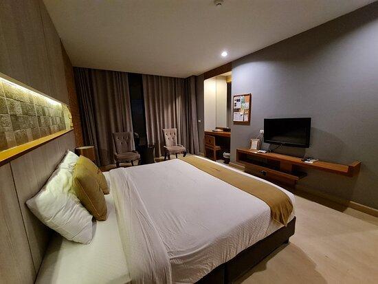 นี่คือห้องพักในแบบ Deluxe Roomครับ