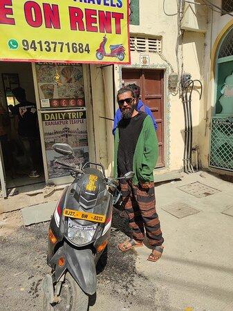 Travellers love Shyam Tour N Travels bike rental