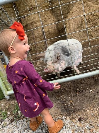True pig lover!