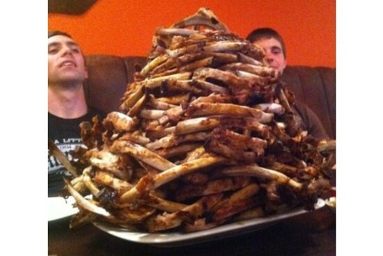 Unlimited Tuesday  Ribs Night Challenge