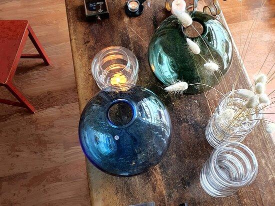 Lottas munblåsta glas. Lotta´s handmade glass.