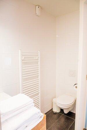 Toilet in kamer Groede