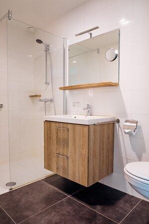Badkamer op de kamer Retranchement