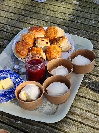 Afternoon Tea, delivered to our home