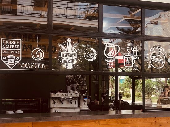 Our new coffee shop