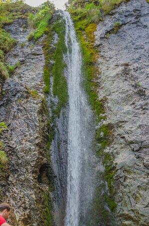 Widok na Wodospad Siklawica