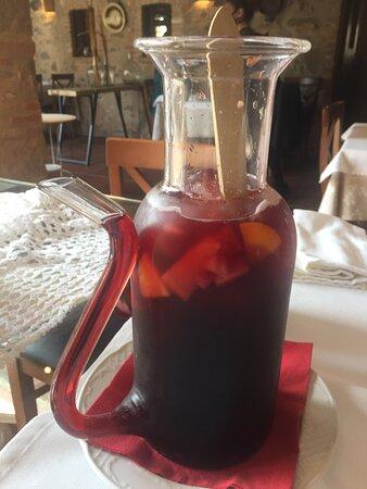 Comida en el Restaurante La Vil-la de Corça