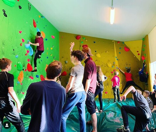 Klifurfell Climbing Gym