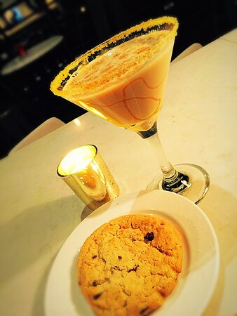Oatmeal..... Cookie or Martini, your choice!