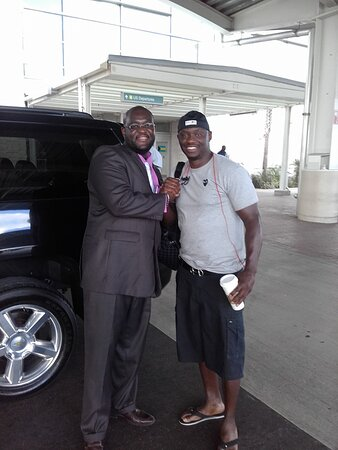 Antonio Tarver with Ken!