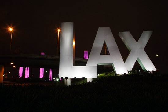 When landing look for our complimentary shuttle van LAX