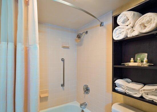 Updated guest bathroom.