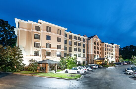 Our well lit hotel is located off I26, close to downtown