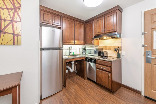 ADA Friendly Full Kitchen in our accessible rooms