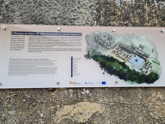 Jardín Histórico Artístico el Bosque de Béjar