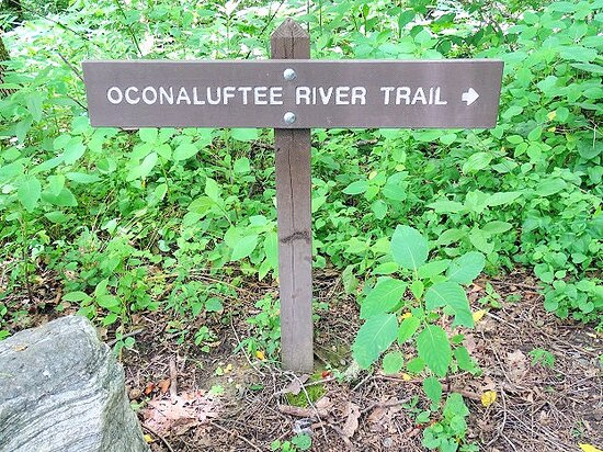 Cherokee, Carolina do Norte: sign