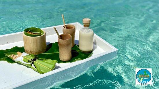 Repas traiteur a bord du bateau ......aucun probleme , contactez nous