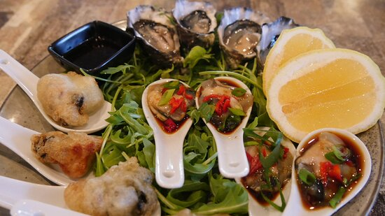 Oysters - 4 ways!!