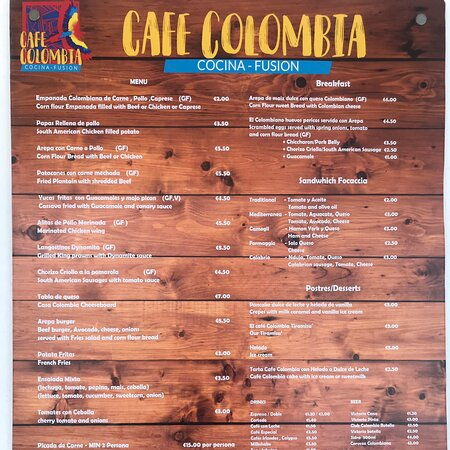 Calahonda, España: Our new menu !!!