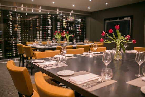 Private Dining & Event Spaces, such as in the Courtyard Cellar pictured.