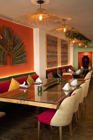 interior del restaurante El Rey