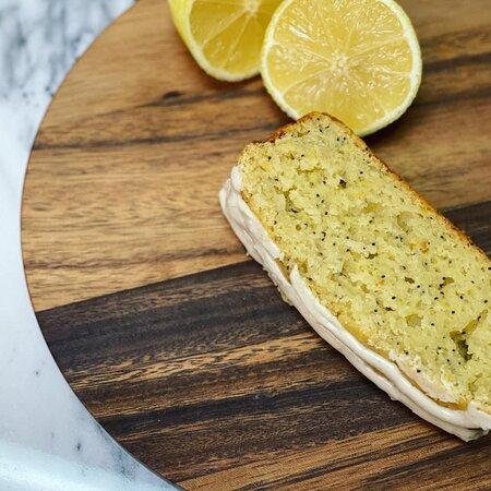Gluten Free Lemon Poppyseed Loaf