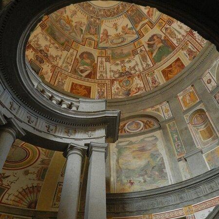 Caprarola: Palazzo Farnese, scala regia