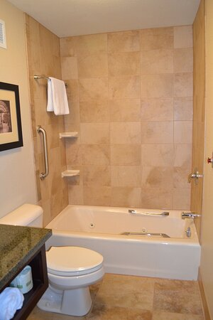 Jetted Tub in King Feature Room