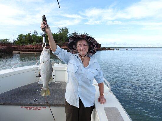 Garig Gunak Barlu National Park, Úc: One of many smaller fish