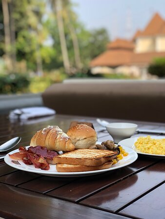 Breakfast at the Dining Area