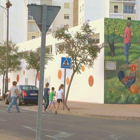 Murals all round town
