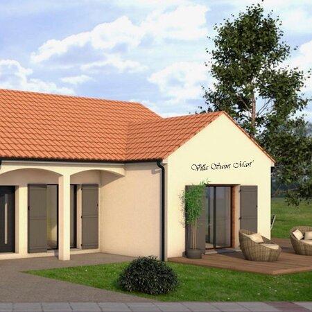 Brehal, Frankrijk: Prochainement en 2022, votre villa de vacances dans la charmante station balnéaire de Saint Martin de Bréhal.