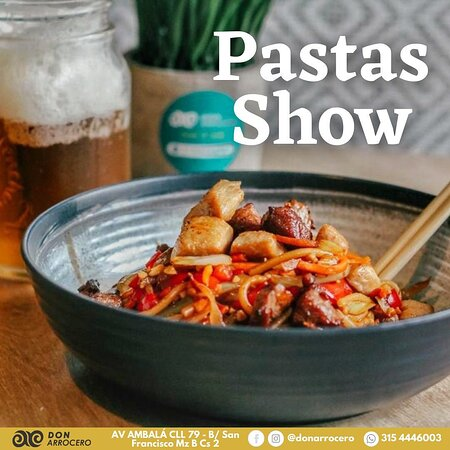 Pastas Show.