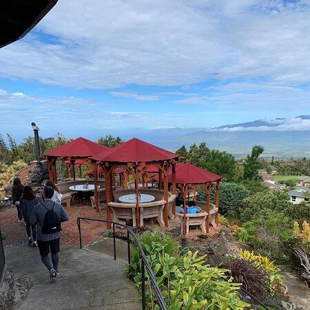Great breakfast for Haleakala bikers