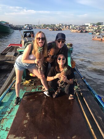 Thank you for your visiting the Mekong Delta with us🥰🥰