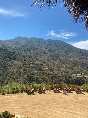 ATV and Zipline Adventure Combo Tour with Tequila Tasting: View from the restaurant