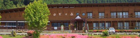 「四季の森」は、全室から阿蘇五岳が一望できる客室と、やわらかな泉質と雄大な眺望で人気の天然温泉、料理長自慢の料理が楽しめる施設です。